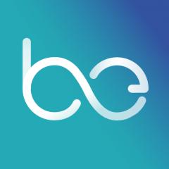 logo bleu applicationss client mystère gagner argent bemyeye