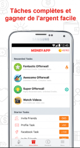 application multi rémunératrice money app