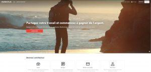 Vendre photos Shutterstock monétiser photos gagner argent sur Internet photos