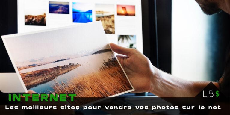 Gagner de l'argent sur Internet : 6 sites pour vendre vos photos et vidéos.