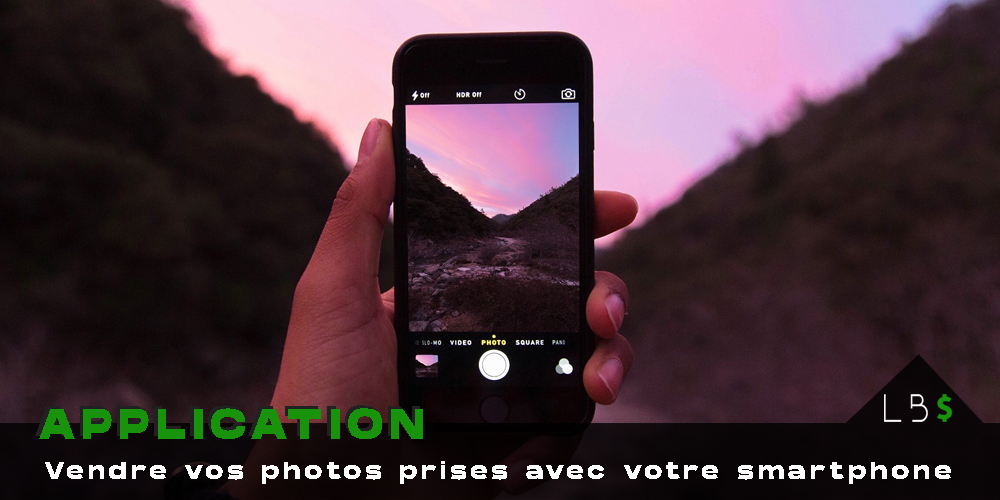 Application vendre photo