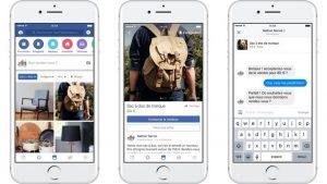 iphone blanc marketplace facebook gagner argent vendre objets