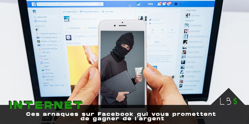 arnaque facebook gagner argent publication