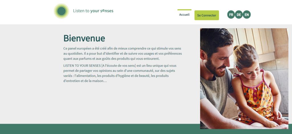 sondage parfum et saveur listen to your senses