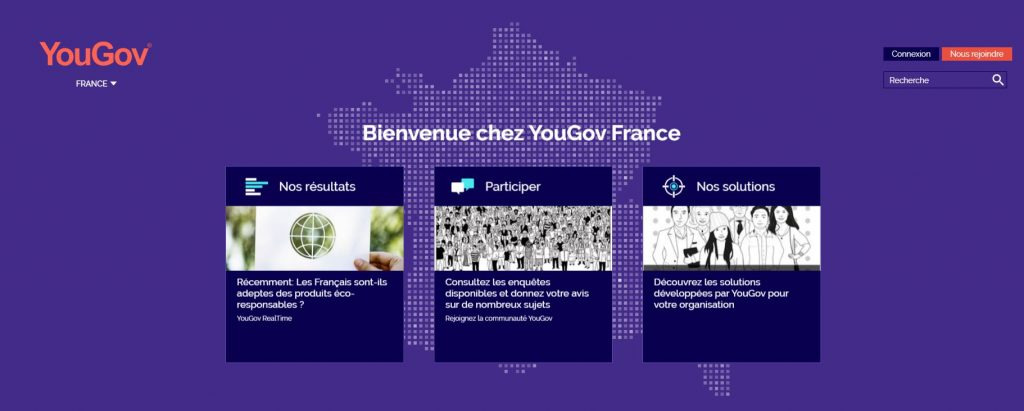 gagner argent yougov sondages rémunérés