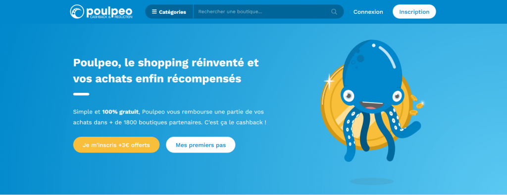 cachback site poulpeo gagner argent paypal