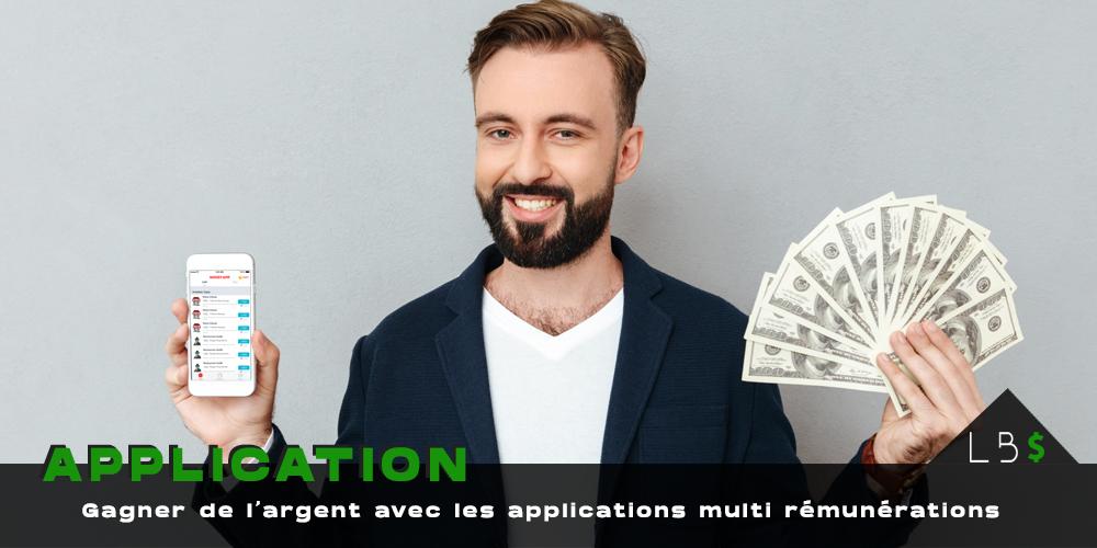 Gagner argent application rémunératrices et missions rémunérées