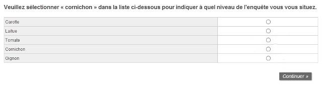 piège sondage