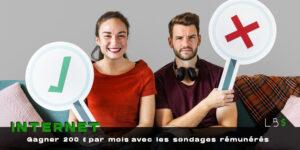 Sondages rémunérés : les 19 meilleurs sites pour gagner de l'argent chez soi