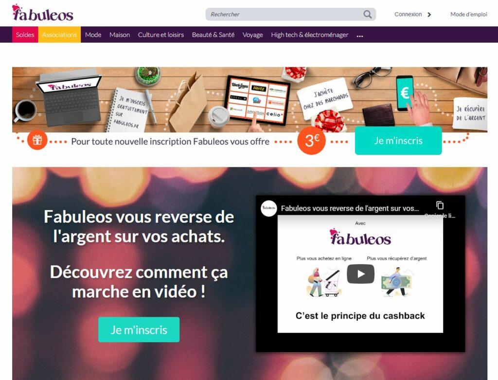 site cashback fabuleos
