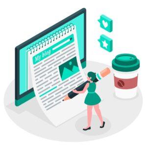 objectifs blog site web