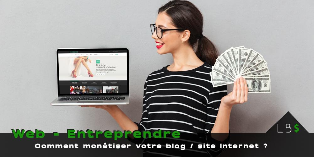 solutions pour monétiser un blog