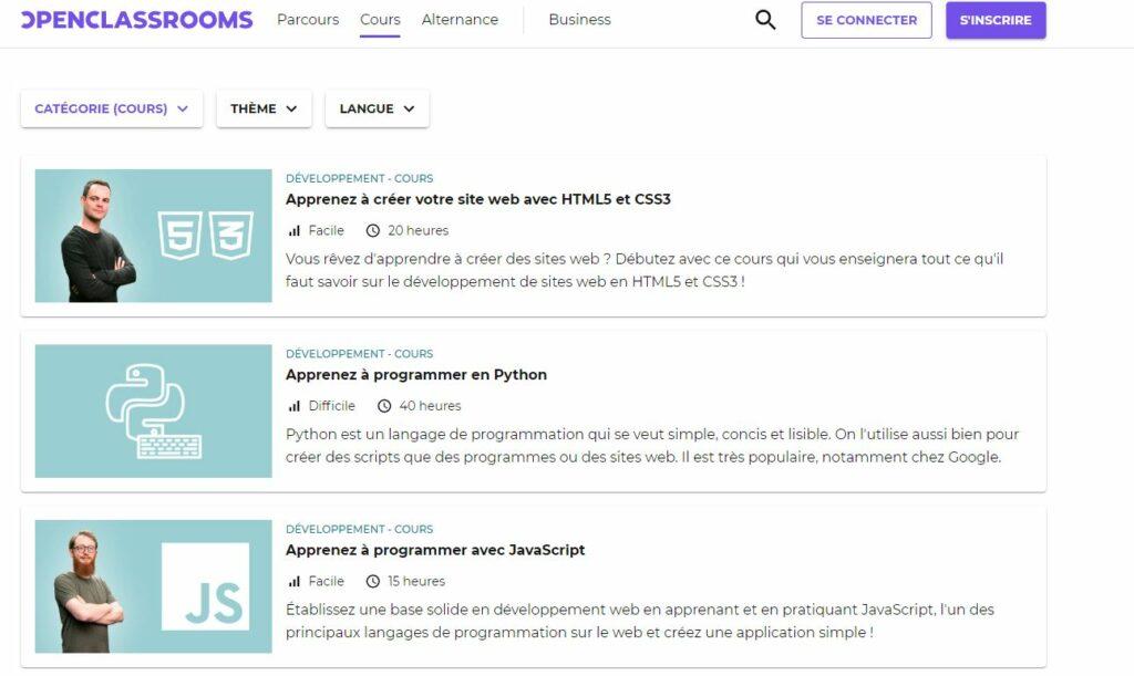 monétiser un blog site internet cour en ligne