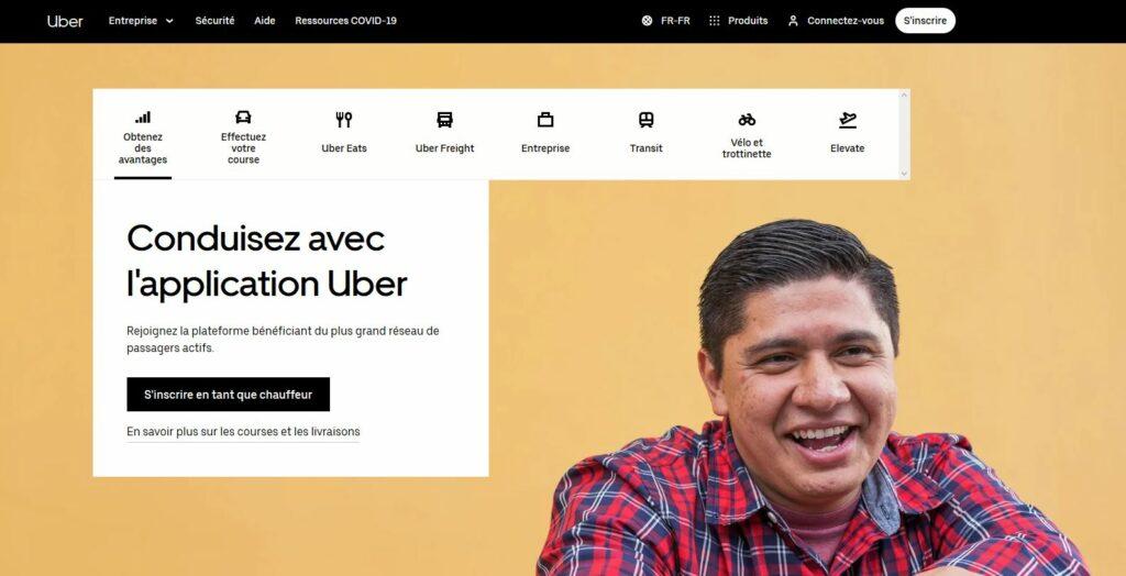 uber devenir chauffeur VTC et gagner de l'argent avec votre voiture