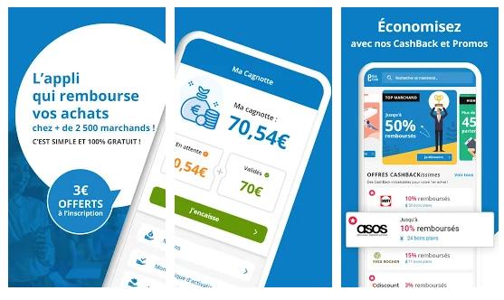 ebuyclu application de cashback pour smartphone