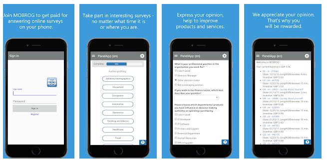 mobrog application pour smartphone