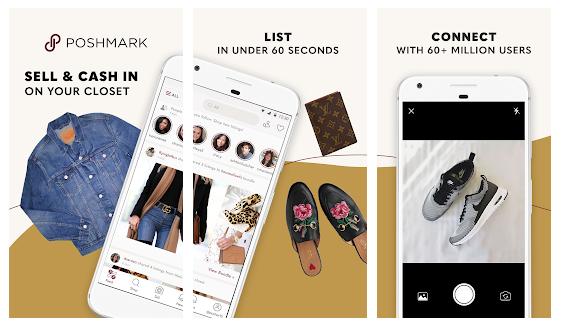poshmark application pour vendre des vêtements