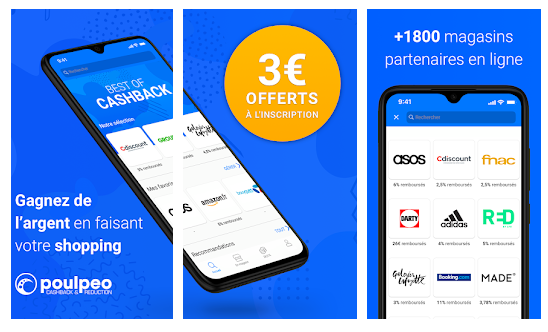 application de cashback poulpeo