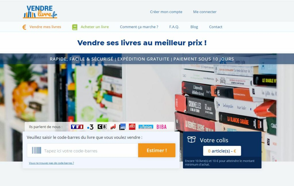 site vendre-livre.fr